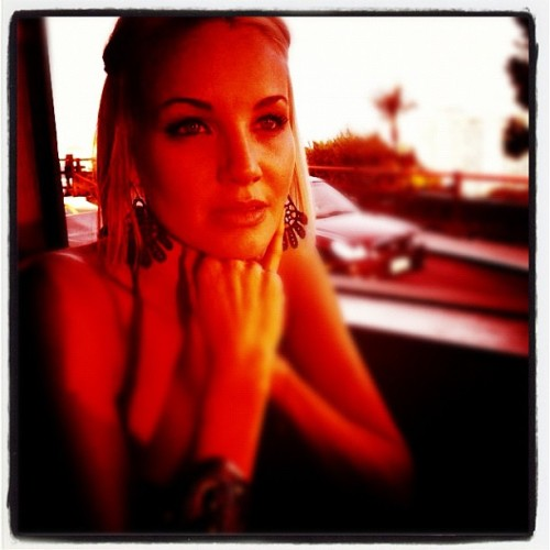 Birthday girl @TheBrianneDavis at dinner. Stunning as always.  (Taken with Instagram at Yamashiro Restaurant)