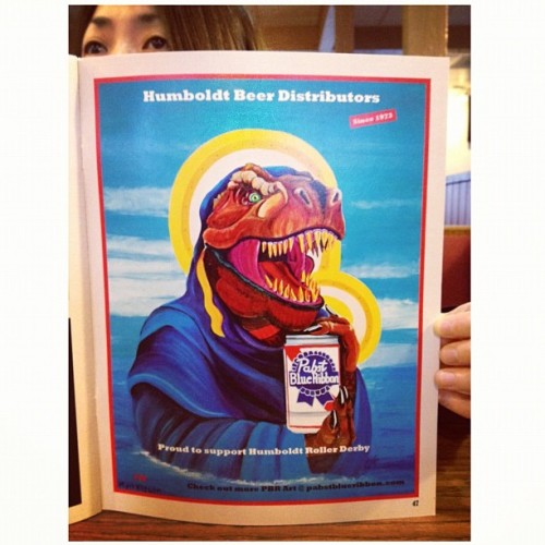 Peek A Boo #1973 #pbr #pabst #pabstblueribbon #holy #beer #peekaboo (Taken with instagram)