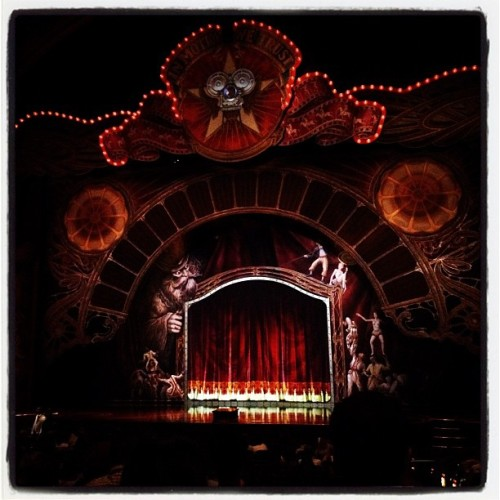 Time for a little Cirque Du Soleil - IRIS (Taken with Instagram at Kodak Theatre)