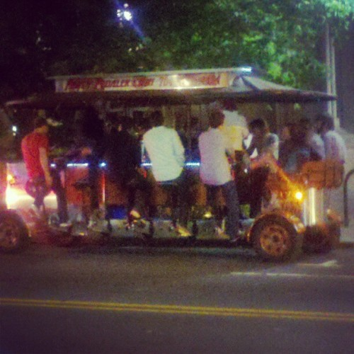 Everyone on the BEER TROLLEY! (Taken with instagram)