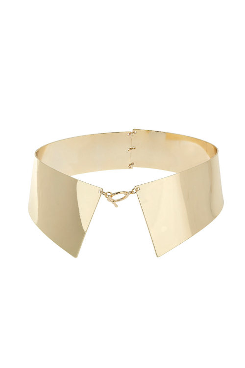 what-do-i-wear:  SHIRT COLLAR NECKLACE