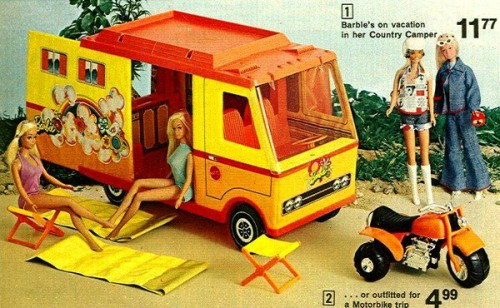 rememberhappy:  Barbie Camper 1970s