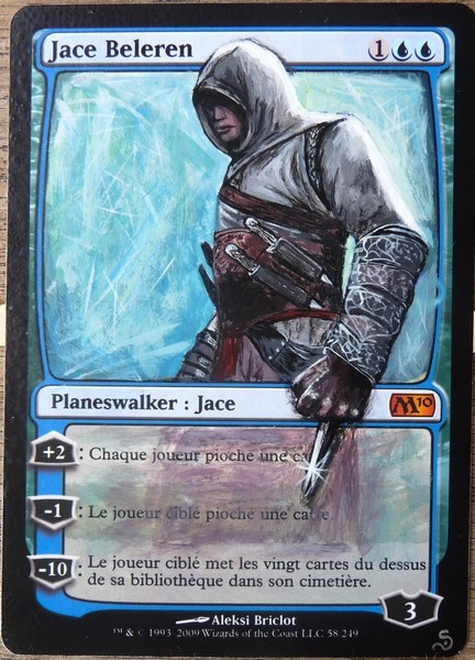 Jace Beleren - by Sandreline
