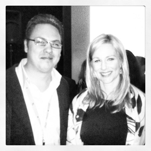 What a treat meeting Laura Linney! #DIFF #LauraLinney (Taken with instagram)