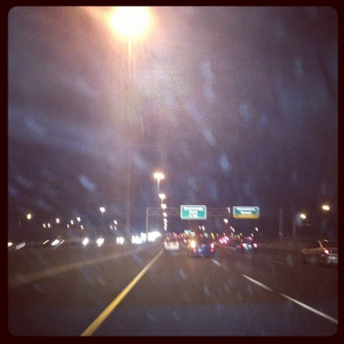 Drive down to St. Carharines.  (Taken with Instagram at Husky Gas Station)