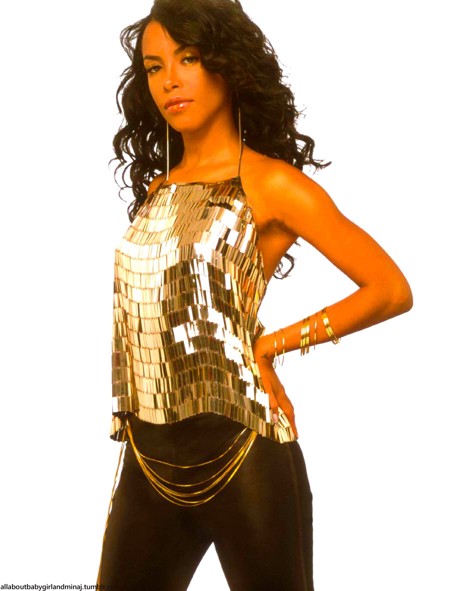 The beautiful and talented Aaliyah! LOVE her! :)