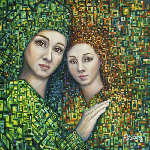 Inner Child / Oil on Canvas / 80 x 80 cm / 2011