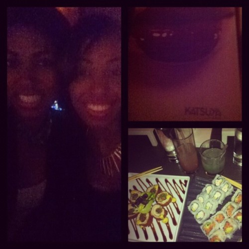 Sushi for dinner w/ the boo #cali #LA #sushi :)  (Taken with Instagram at Katsuya)