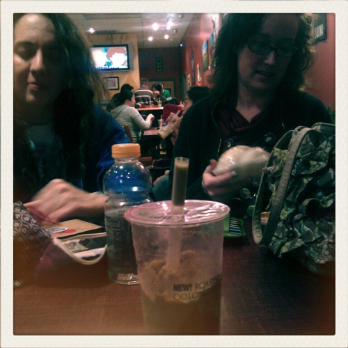 Boba with friends post-convention day one.