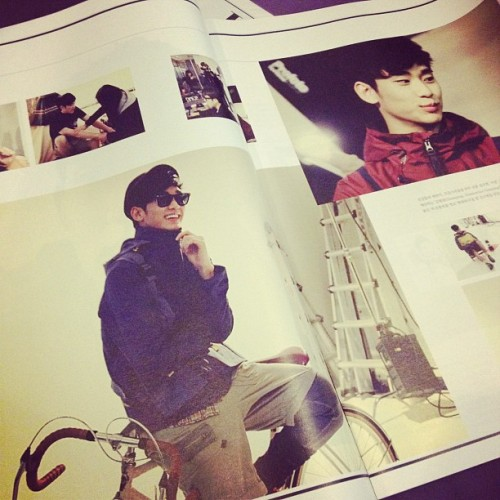 LUCKY! Inside HighCut Vol 70, theres also Kim Soo Hyun! #highcut #fashion #editorial #top #bigbang #korean #kpop #moon #sub (Taken with instagram)
