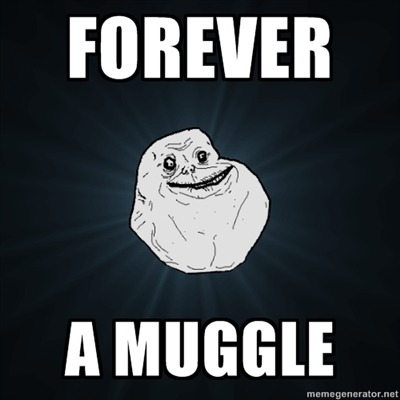 Pottermore Says I am Magical so it I AM NOT A MUGGLE!