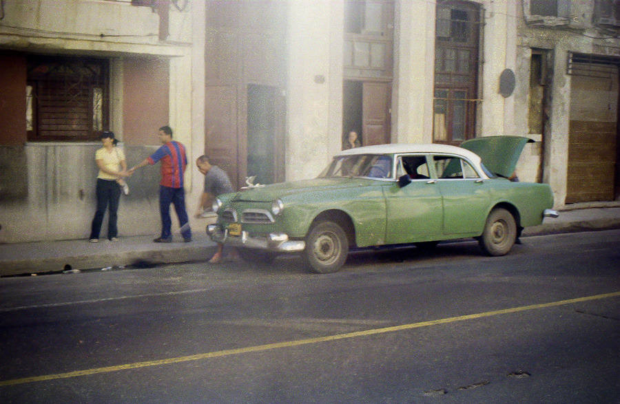 kimhalemaier:  'The Hand-Off' Old Havana, Cuba February 2012