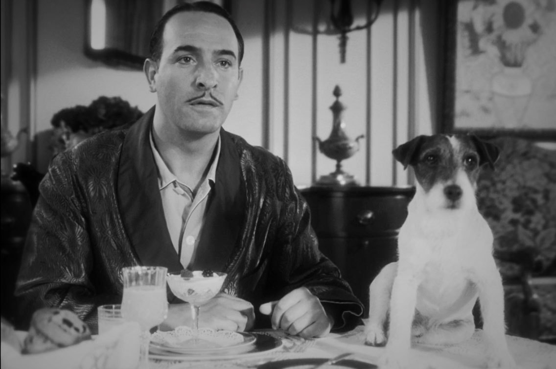 Jean Dujardin in The Artist. Great movie