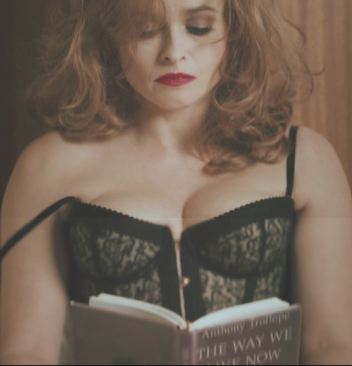 "suicideblonde:  Helena Bonham Carter in Rufus Wainwright's video for ""Out of the Game"""