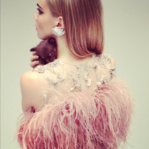 sfilate:  Cara Delevingne in Nick Knight's first ever Instagram photo shoot