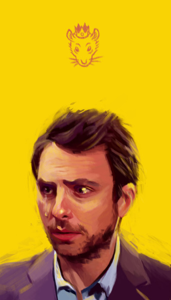 eatsleepdraw:  Charlie Kelly, the King of Rats from It's Always Sunny in Philadelphia Jerry Gao  |  Tumblr
