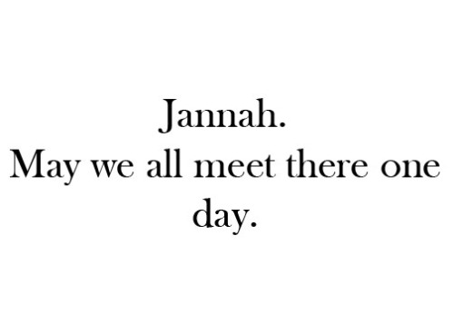 "qawhsa:  rieyna-sadik:  Jannah. May we all meet there one day. #InsyaAllah :)  Insyallah :"")"