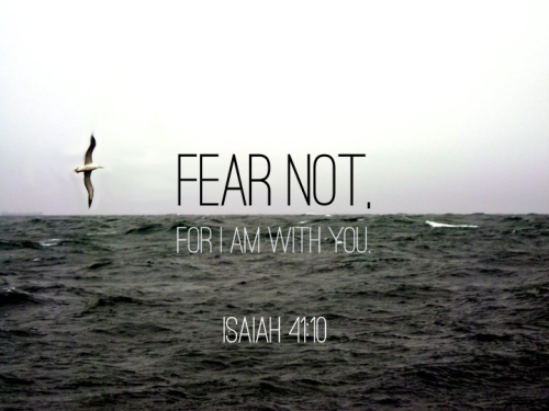 showersofgrace:  Fear not, for I am with you;Be not dismayed, for I am your God.I will strengthen you, Yes, I will help you, I will uphold you with My righteous right hand.Isaiah 41:10
