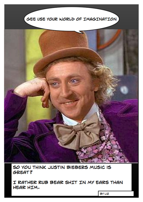 This is what I think of Justin Bieber's Music