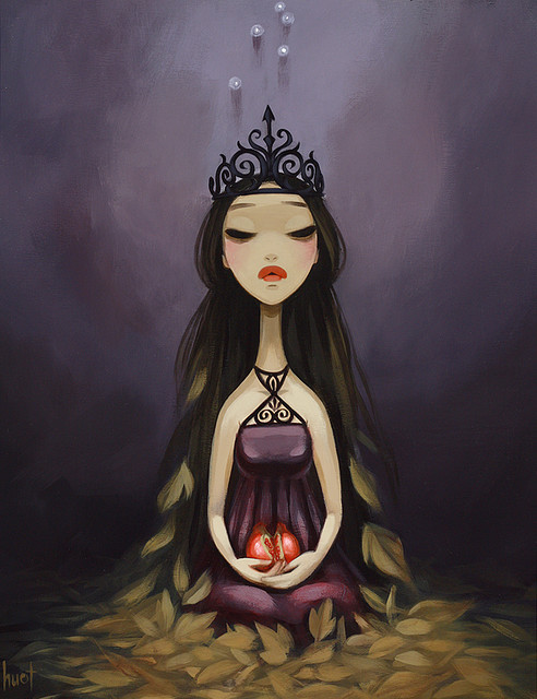 Persephone by kristahuot on Flickr.