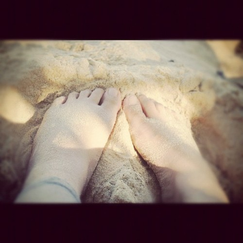 Sand between my toes ☀☀☀☀☀ (Taken with instagram)