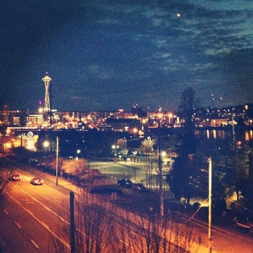 I've missed you Seattle…so happy right now (Taken with instagram)