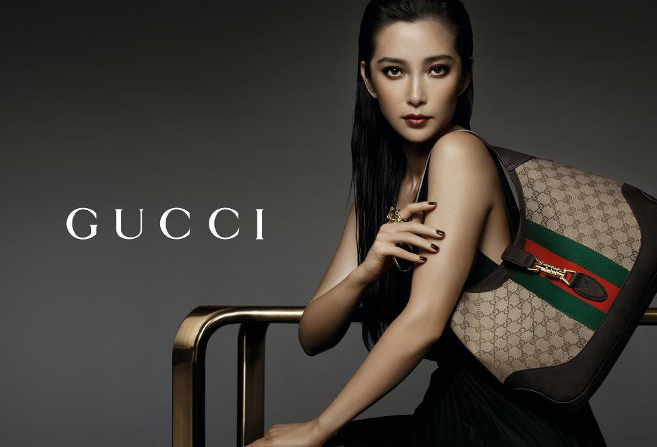 GUCCI ACESSORIES 2012 It's Gucci's new accessories campaign, exclusively created for China and starring Chinese actress Li Bing Bing. The evocative images marry Italian craftsmanship with fresh, modern beauty.