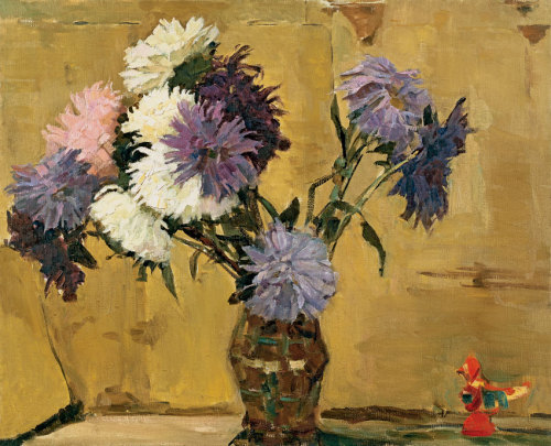poboh: 1960 Nina Veselova (Russian, 1925-61) ~ Asters