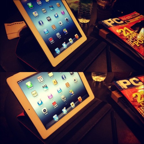 Targus Versavu 360 degree. #ipad #targus #newipad (Taken with instagram)