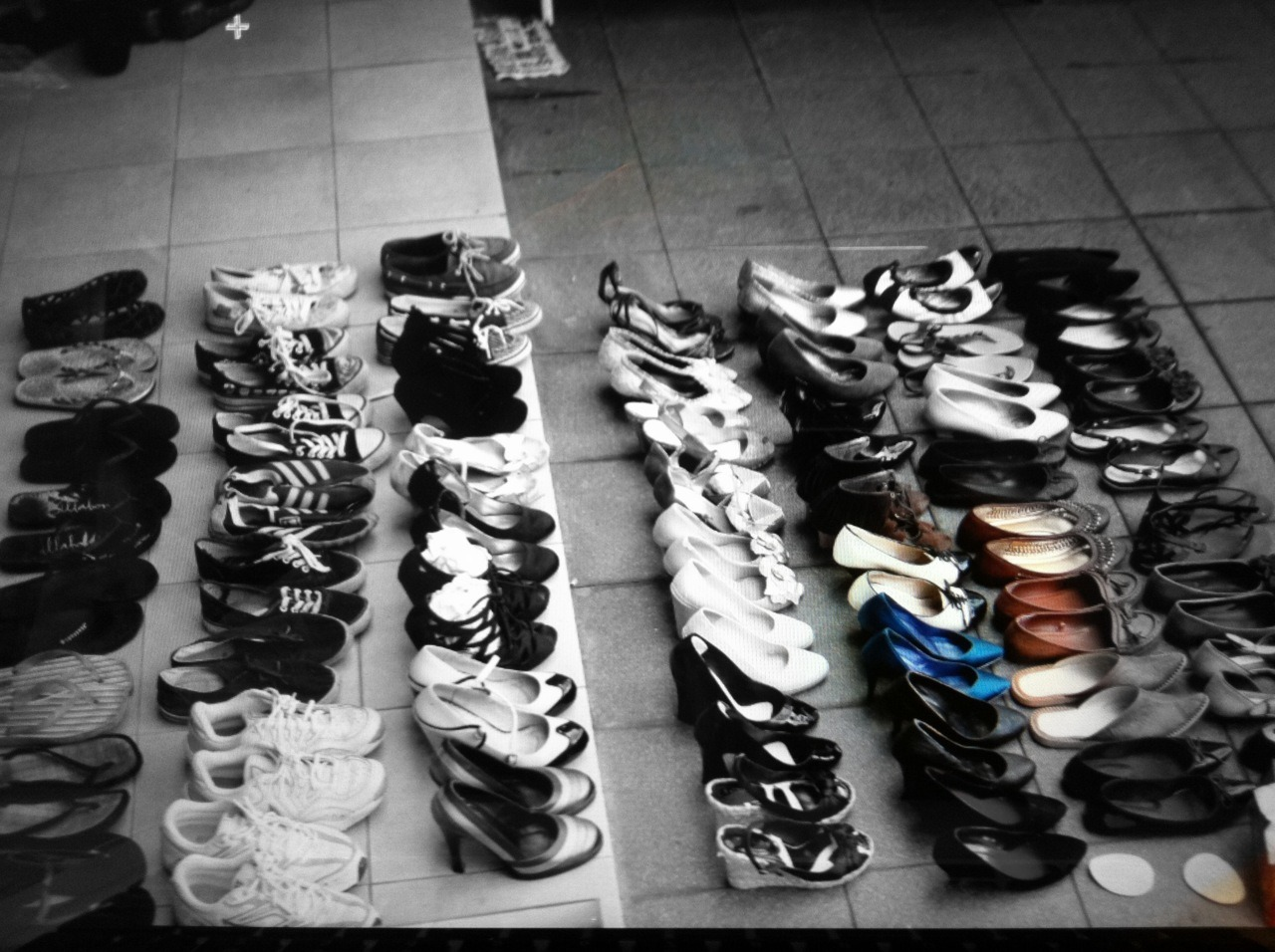 Counting Shoes haha
