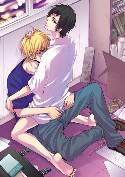 …'flirt'....in the preparation room......bottomless 2…  Shizuo x IzayaShizuiza【腐】準備室でイチャイチャ【シズイザ】 Artwork byGuernicayama まりこ@インテあ19b   Love