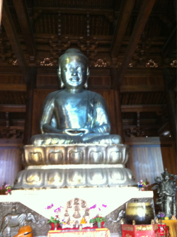 This Budda which is in Shanghai is made of 15 ton silver!