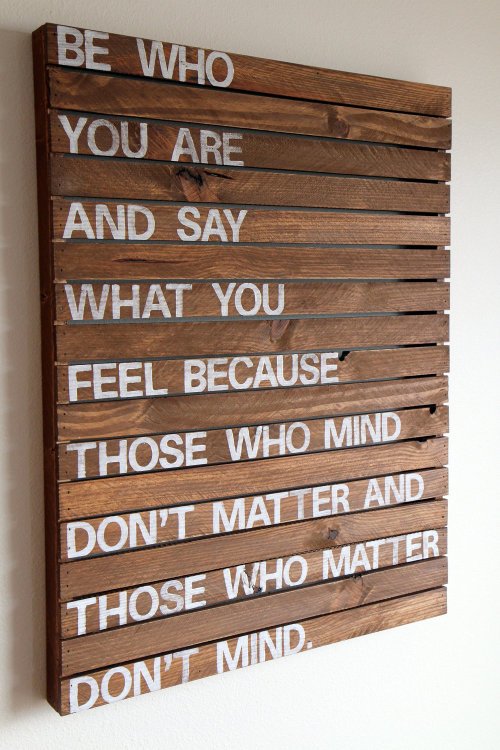 danceabletragedy:  Be who you are by Jessica Massie
