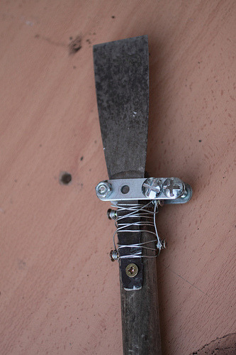 home made garden tool (by ©HTO3)