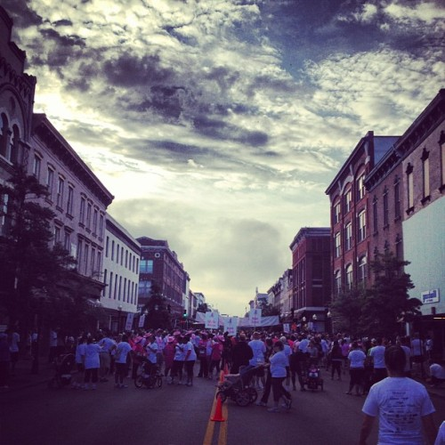 Race for the cure! #race #run #savannah (Taken with Instagram at Papillote)