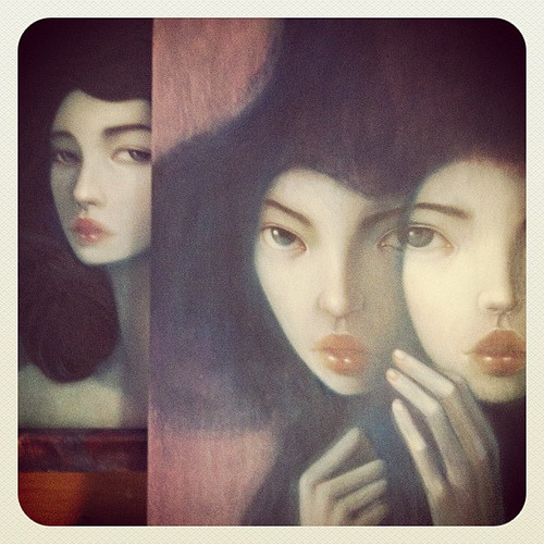 Two pieces in progress (by { stella im hultberg })