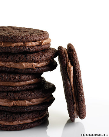 Chocolate Malt Sandwich Cookies … mmmmMMMmmmmmake!!