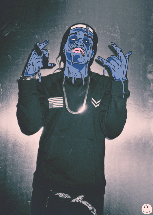 electric-skys:  Grime A$AP