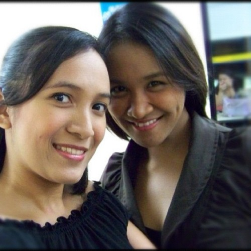 I miss u @jieanne06 #igers #photoaday #friends #vain (Taken with Instagram at Metrowalk Ortigas)