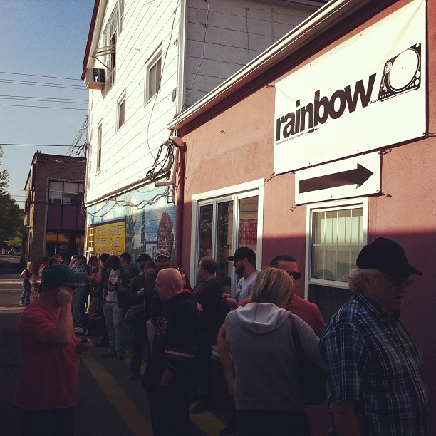 Happy Record Store Day #RSD12 (Taken with Instagram at Rainbow Records)