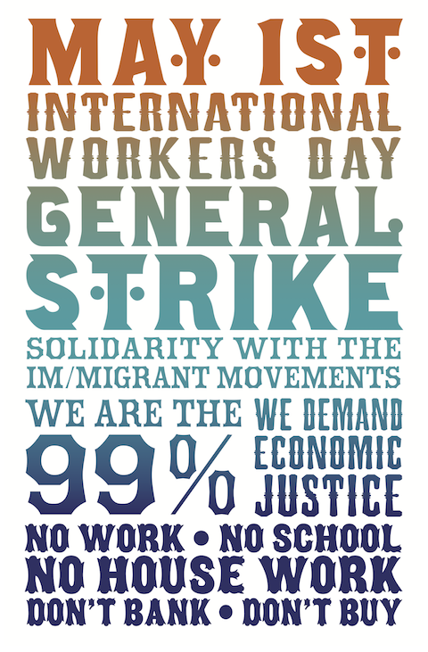 novenator:   May Day Directory: Occupy General Strike In Over 115 Cities  While American corporate media has focused on yet another stale election between Wall Street-financed candidates, Occupy has been organizing something extraordinary: the first truly nationwide General Strike in U.S. history.