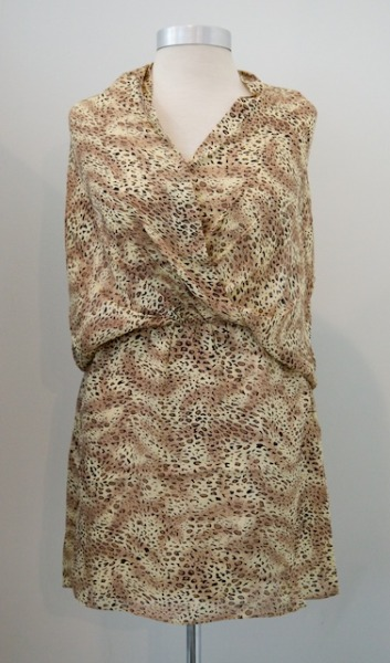 Just In: PARKER cheetah print dress