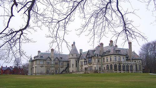 Collinwood Mansion is a fictional house featured in the Gothic horror soap opera Dark Shadows (1966–1971). Built in 1795 by Joshua Collins, Collinwood has been home to the Collins family and other sometimes un-welcome supernatural visitors since its inception. The house is located near the town of Collinsport, Maine, overlooking the Atlantic Ocean. Almost every resident of the town is too scared to even drive by the house due to rumors and legends. The house has more than 40 rooms, most of which are closed off due to lack of inhabitants and financial reasons, and more than a few secret passageways, including a room that is a gateway to a Parallel Timeline, a stairway through time, and one room that appears to be a play room to some, and nothing more than a linen closet to others. Most of the household activity is centered in the drawing room and foyer, and sometimes the kitchen, dining room, and study. Collinwood has, throughout its history, seemed to upset and anger its inhabitants and anyone else who is unfortunate enough to step over the threshold and through the enormous oak front doors. It has been the scene of much death, random violence, and other such misfortune. Most local people find it easier to just avoid it and the Collins family altogether.