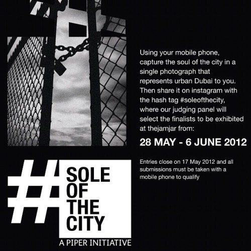 #soleofthecity #dxb #dubai #mobilephotography #iphobeography #jamjar #art #iphoneart #mobileart #urban #piper (Taken with instagram)