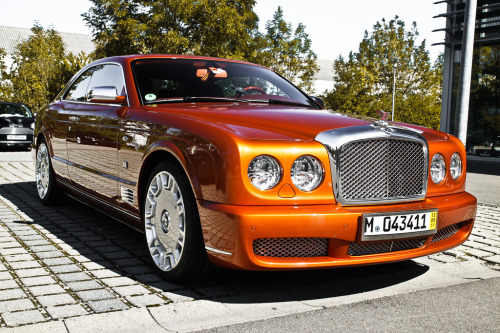 carmonday:  Bentley Brooklands