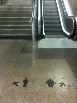 "(via Street Art At Its Best: ""Take The Stairs"" 