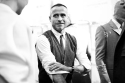 Thom Browne's backstage