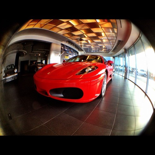 Morning beautiful! 😘 #Ferrari #F430 (Taken with instagram)