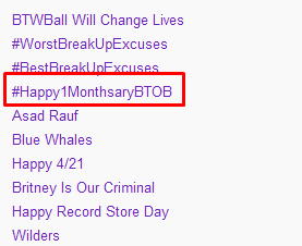 TT Worldwide ^^ Happy Day Guys ~~ BTOB Fighting!! #Happy1MonthsaryBTOB Sungjae fanbase