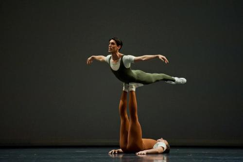 Bavarian State Ballet in Goldberg Variations (photo: Day Kol)